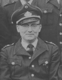 Ein Bild des Löschgruppenführers  Eugen Wolf