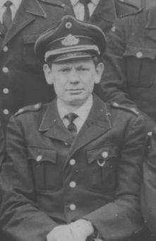 Ein Bild des Löschgruppenführers  Gerhard Strohm